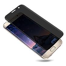 Galaxy S6 Edge Plus Privacy Tempered Glass Screen Protector TOP TRADE US Premium Privacy Anti-Spy 3D Tempered Glass [9H Hardness] [Anti-Scratch] Screen Protector for Samsung Galaxy S6 Edge Plus(Black)