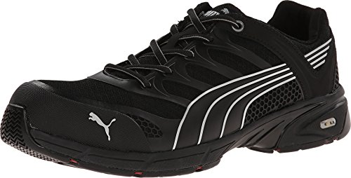 Men's Puma Safety Fuse Motion SD Low Safety Toe Shoes, Black/Black, 13D by PUMA (Image #3)