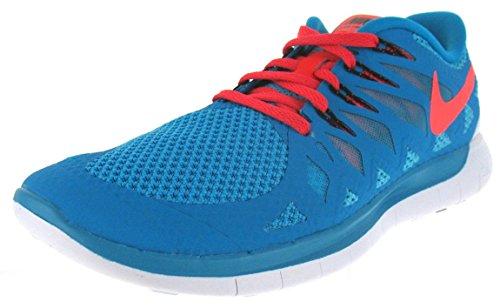 Nike-vrije 5.0 Trainingsschoenen Voor Heren - Blauwe Lagune / Clearwater / Crimson, 9.5