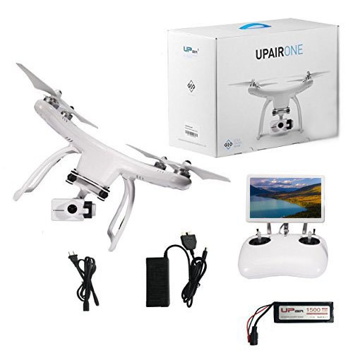 UPair 2.7K Video Camera Drone with 7 inch FPV Screen Live View 5.8G RC Quadcopter,Return to Home Function, Position Hold Headless Altitude-Hold Switch Mode Aerial Photography Beginner Drone