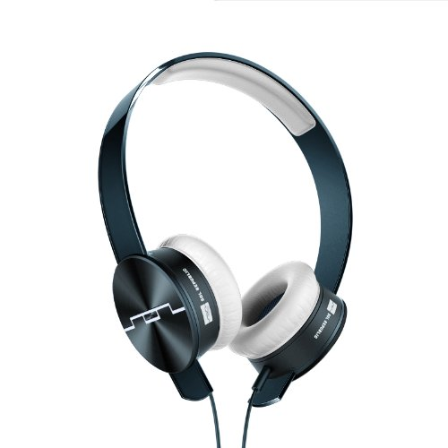SOL REPUBLIC Tracks Ultra On-Ear Headphones with Remote and Mic (Blue) by SOL REPUBLIC