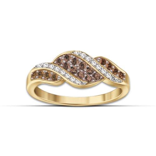 Women's Ring: Sweet Decadence Diamond Ring by The Bradford Exchange: 8