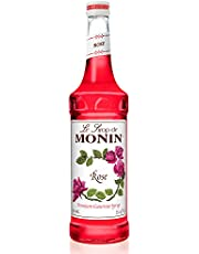 Monin Rose Syrup, 750 ml