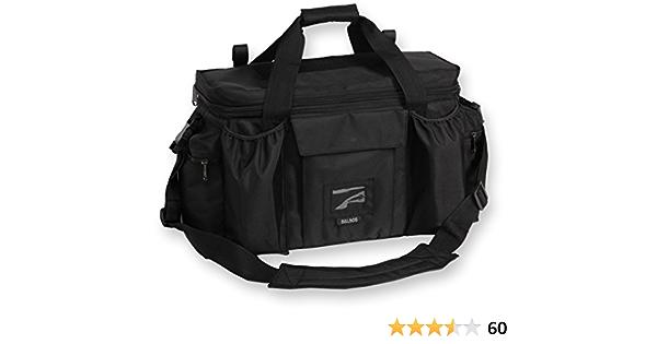 Bulldog Range Bag BD910 Black With Strap 13x7x7 for sale online