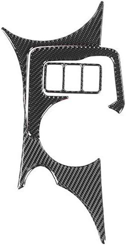 Console Bekerhouder Cover3 Stksset Console Bekerhouder Koolstofvezel Cover Decoratieve Panel Sticker Fit voor Nissan 370Z Z34 20092020