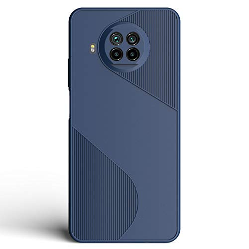 CareFone Back Cover for Mi 10i 5G Silicone,Blue