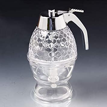 95dd5ba34c4e Amazon.com: Jar Honey - Portable Acrylic Honey Dispenser Food ...