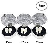 Best Vampire Fangs - TissueDeep 3 Pairs Vampire Fangs Teeth - Dentures Review