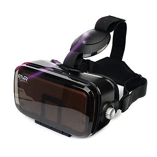 ETVR 3D Virtual Reality Glasses 120 Degr…