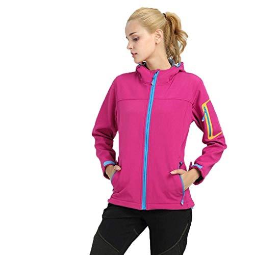 Elodiey Rose vent Softshell Ans Sport Imperméable Fe 20 Veste Femme Coupe D'hiver 6qWPSr6f