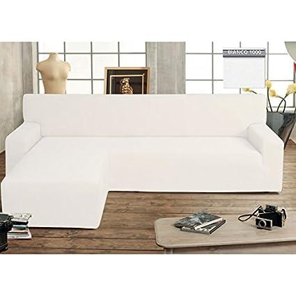 Astonishing Biancaluna Genius With Peninsula Corner Sofa Left White Machost Co Dining Chair Design Ideas Machostcouk