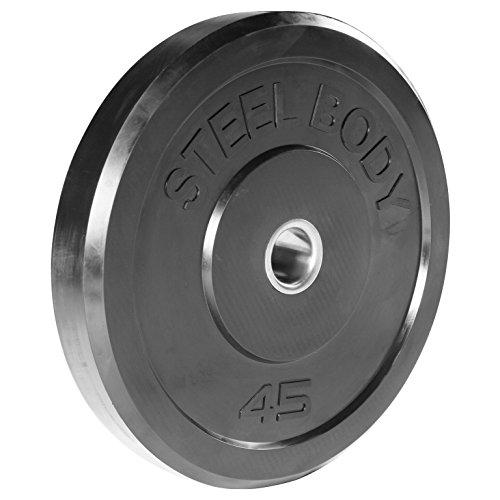 Steelbody Olympic Weights, 45-Pound