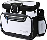 Arctic Zone Titan Deep Freeze 16 Can Zipperless Cooler, White