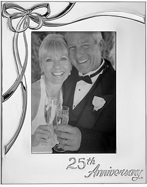 Lenox Picture Frame, Best Wishes 25th Anniversary 5