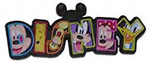 Disney Mickey Mouse Lasercut Rubber Refrigerator Magnet