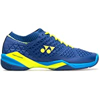 Yonex Eclipsion Z Wide Badminton Shoes (Blue/Yellow)