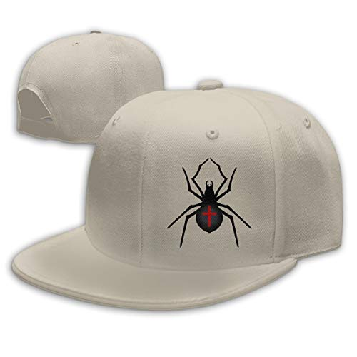 WEIPING LF Halloween Spider Adult Unisex Adjustable Flat Baseball Cap Snapback Hip-Hop -