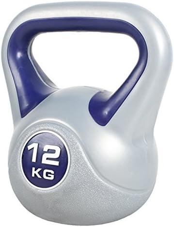 Fitness-Kugelhantel 12 kg GORILLA SPORTS/® Kettlebell Stylish 2-20 kg Kunststoff