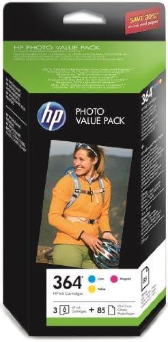 HP CH082EE#301 - Pack cartucho de tinta y 85 hojas de papel ...