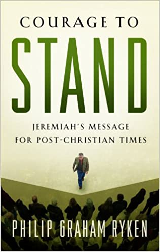 Book Courage to Stand, Jeremiah's Message for Post-Chri