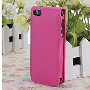 Brand New Candy Color Leather Flip Case Cover For iPhone 5 5G 5S --- Color:White