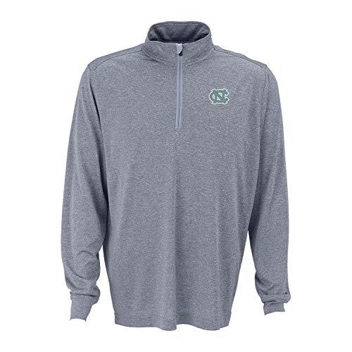 North Carolina Tar Heels Melange 1/4 Zip Pullover - Grey