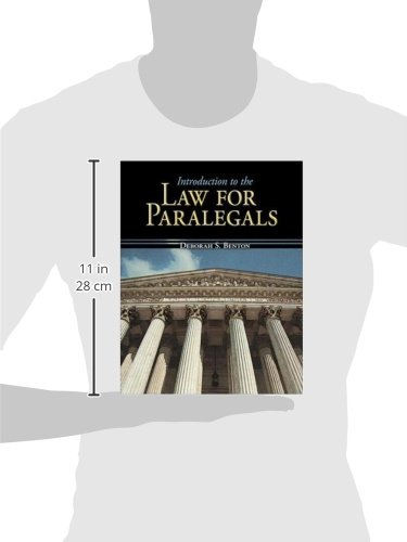 Introduction to the Law for Paralegals (Mcgraw-hill Business Careers Paralegal Titles)