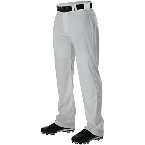 AllesonメンズワープニットWide Leg野球パンツ B00I7T92NM 4L|グレー グレー 4L