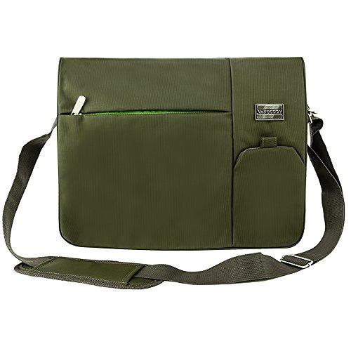 Causal Laptop Shoulder Bag Cross-body Messenger Bag School Bag 15.6' for...