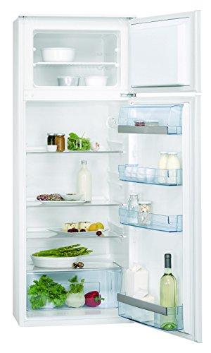 AEG SDS61400S0 Einbau-Kühl-Gefrier-Kombination EEK A++ (Kühlen: 184 L/Gefrieren: 40 L/Schlepptür) weiß