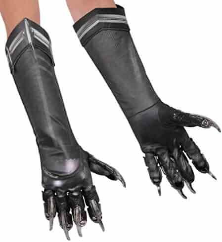 Rubie's Costume Captain America: Civil War Kid's Deluxe Black Panther Gloves