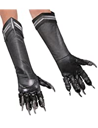 Rubies Costume Captain America: Civil War Kid's Deluxe Black Panther Gloves