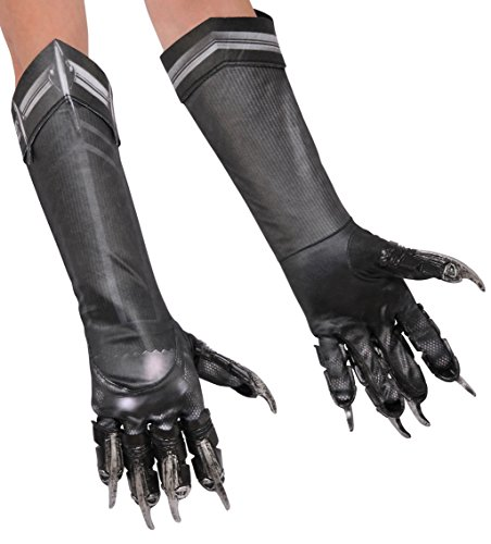 Kid's Deluxe Black Panther Gloves