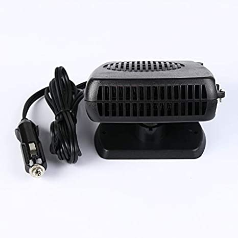 HIbuy Window Defroster Car Heater Cooling Fan 12v 24v Defogger for Quick Defrost Heating (12v)