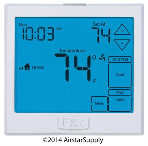 PRO1 IAQ T955 Universal Programmable 3H/2C Heat Pump Touc...