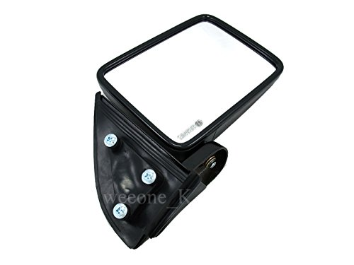 Aftermarket Parts Right Side Manual Mirror Side Rear View for Mitsubishi L200 Cyclone 1987-1996