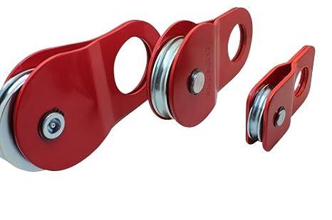 Pateca para cabestrante de polea resistente para rescate de 4x4 2T//4T//8T//10T Ratchoox