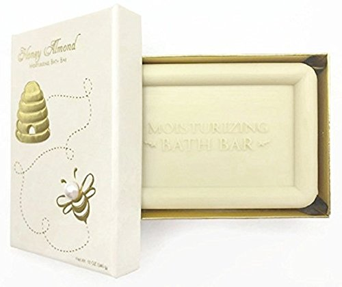 Honey Almond Moisturizing Bath Bar Soap