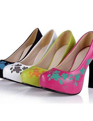 GGX  Damen   Herren   Mädchen     Unisex-High Heels-Hochzeit   Büro   Lässig   Party & Festivität   Kleid-Mikrofaser-Stöckelabsatz-Absätze- B01KL7WTY6 Sport- & Outdoorschuhe Trend d0a4d3