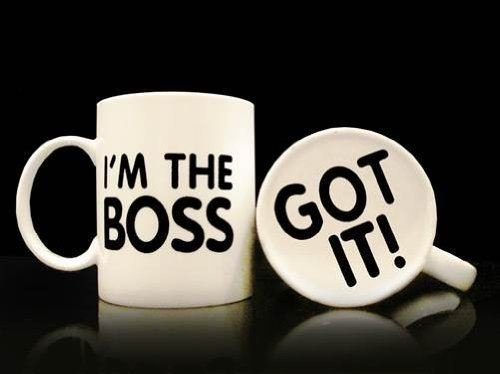 Im The Boss Mug