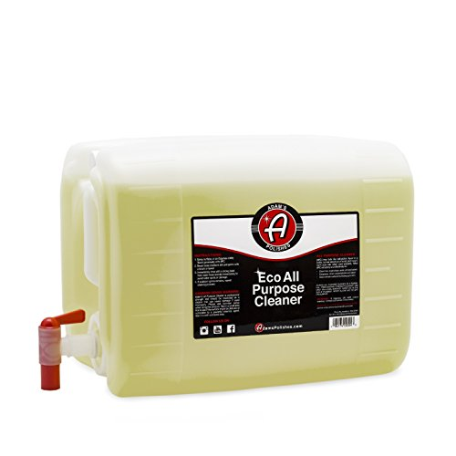 - Adam's ECO All Purpose Cleaner - Industrial Strength, Concentrated Formula Can be Diluted Down - Tough on Dirt but Easy on Your Car, You, and The Environment (5 Gallon)