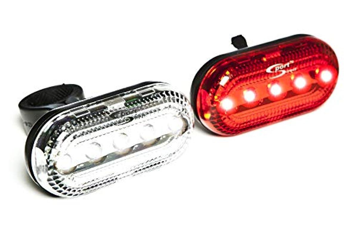 Sport Direct Mega Bright Twin Led Bike Lights 696227220309
