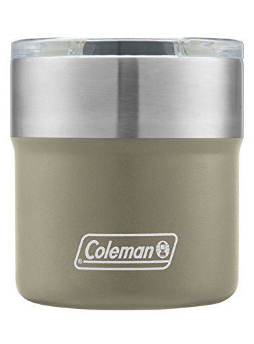 Coleman Sundowner Insulated Stainless Steel Rocks Glass, Sandstone, 13 oz. from Coleman