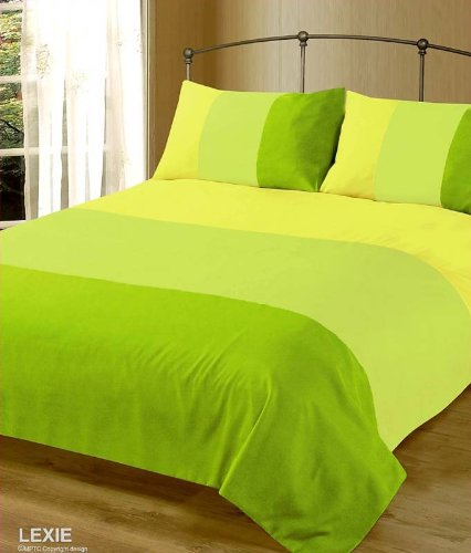 lime green duvet cover Lime Green Duvet Cover Set Double Size Bedding Plain Bed Cover  lime green duvet cover