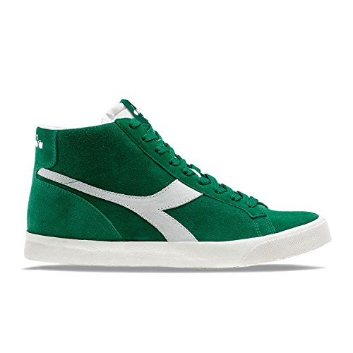 Diadora - Zapatillas para hombre verde y blanco