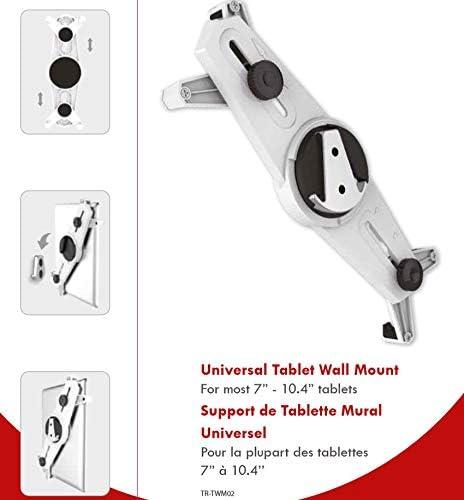 TronicXL Soporte de pared universal para tablet tablets de 7-10,4 pulgadas compatible con iPad Lenovo MSI Huawei Sony Acer TREKSTOR Asus Ebook Reader fijaci/ón de la cocina accesorio el sal/ón