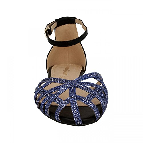 amp; Blue Sandalo GOLD GOLD Ragno Blu xTqAFcfwfa
