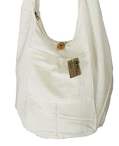 White Hobo Handbags - 8
