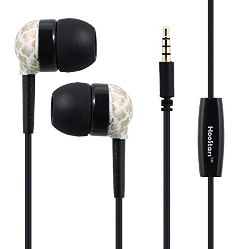 Price comparison product image BIYATE Earbuds, 3.5mm Earphones Stereo Headphones for Runing Jogging Gym Noise Cancelling Headset Fit Compatible with iPhone Xs Max XS XR X 10 7 7 Plus 8 8Plus
