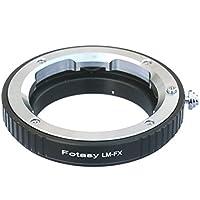 Fotasy Pro Leica M Lens to Fujifilm X-Mount Camera X-Pro1 X-Pro2 X-E1 X-E2 X-E2S X-M1 X-A1 X-A2 X-A3 X-A10 X-M1 X-T1 X-T2 X-T10 X-T20 Adapter